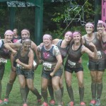 Dirty Girl MudRun. Breast Cancer Awareness.