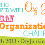 31 Days to Organization – SUCCESS!