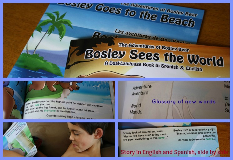 Learning Spanish with Bosley