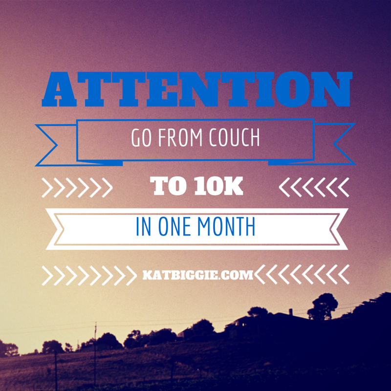 couch to 10K in one month