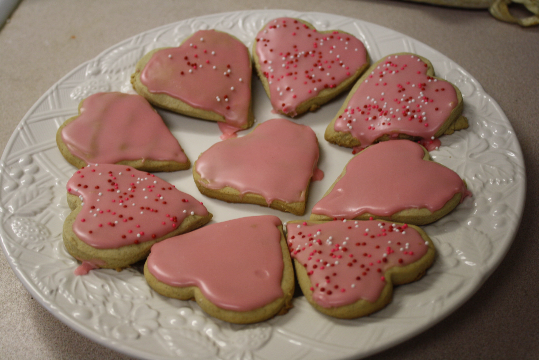 gluten free valentine's day cookies