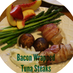 Bacon Wrapped Tuna Steaks