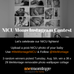NICU Moms Photo Contest with WeMontage!