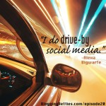 Drive-By Social Media {Wordless Wednesday}