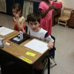 1st Day of 2nd Grade {Wordless Wednesday}