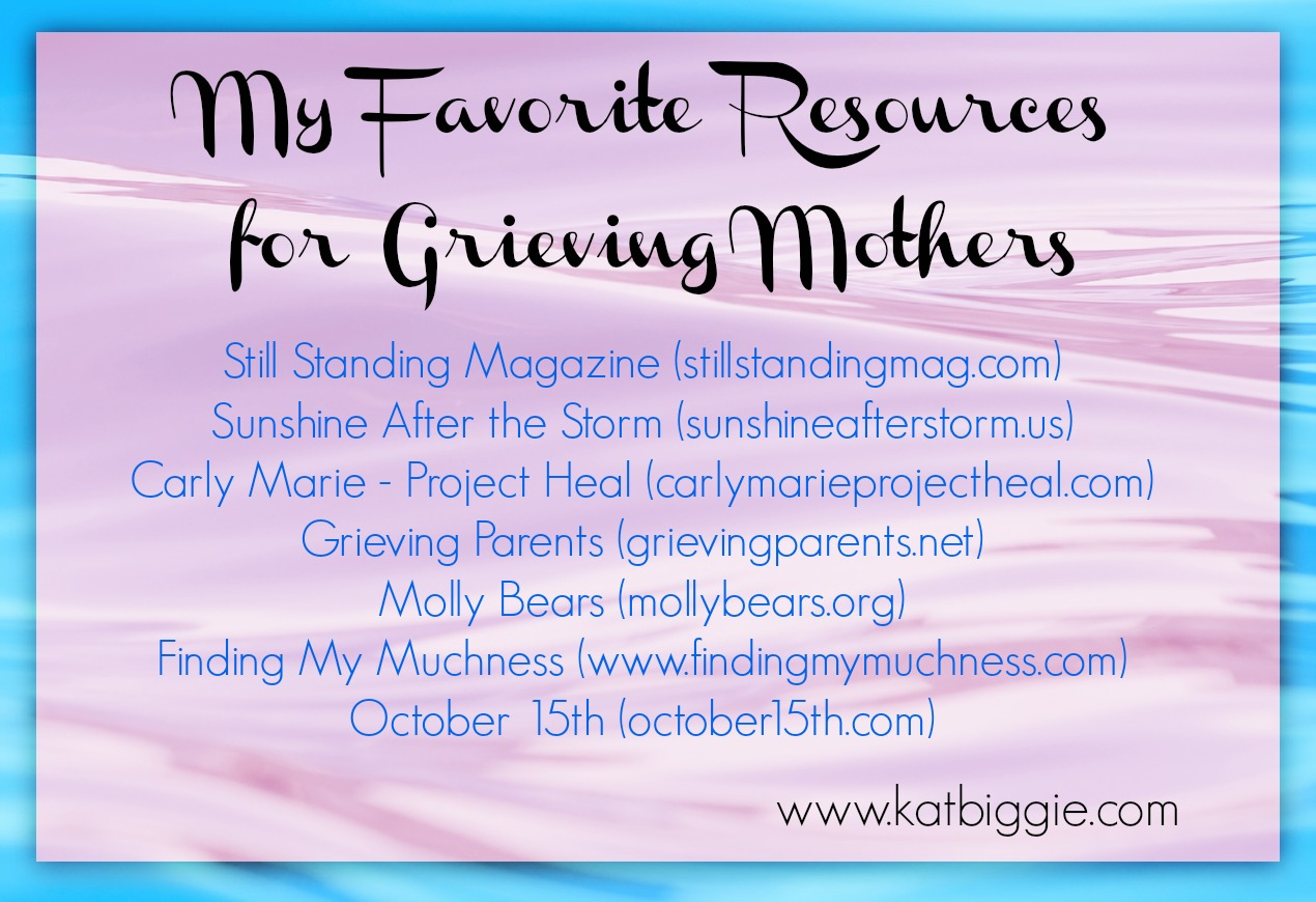 Resources for Grieving Mothers