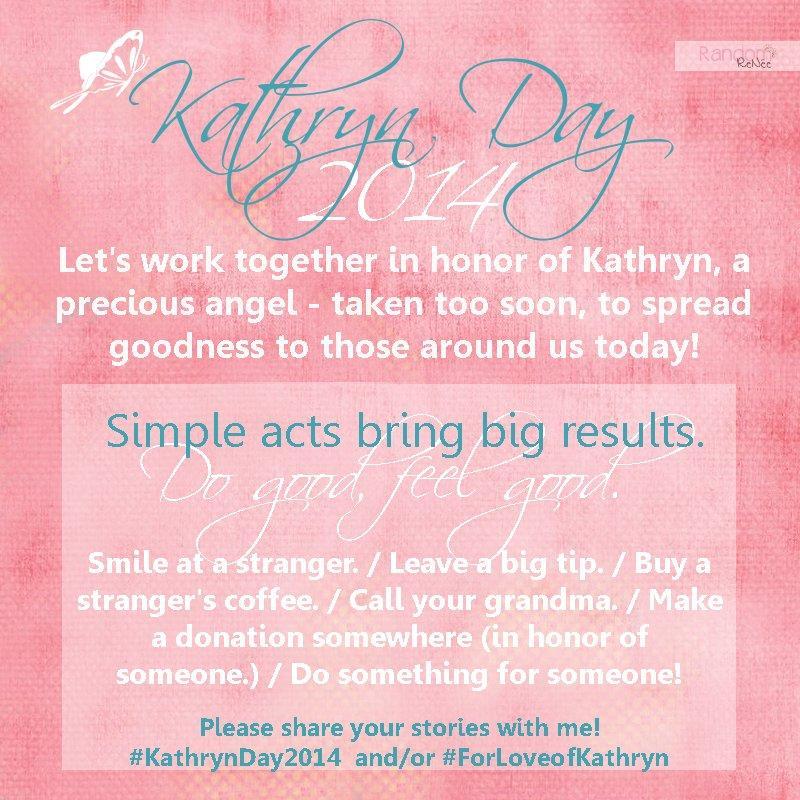 Kathryn day 2014