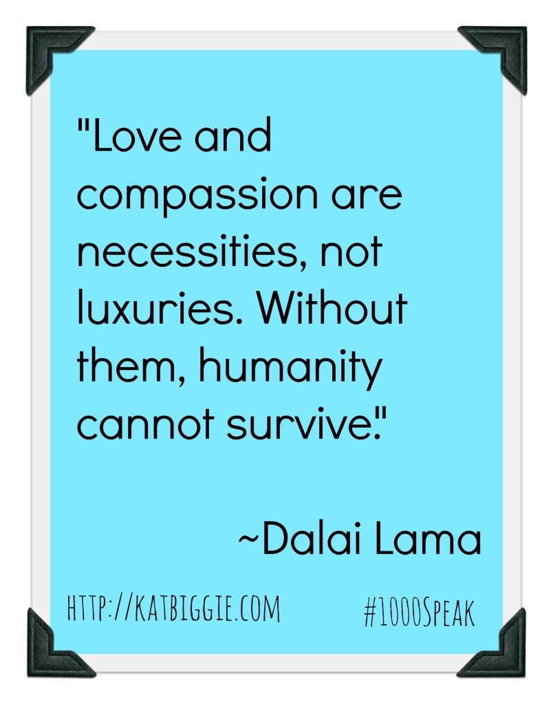 compassion, #1000speak