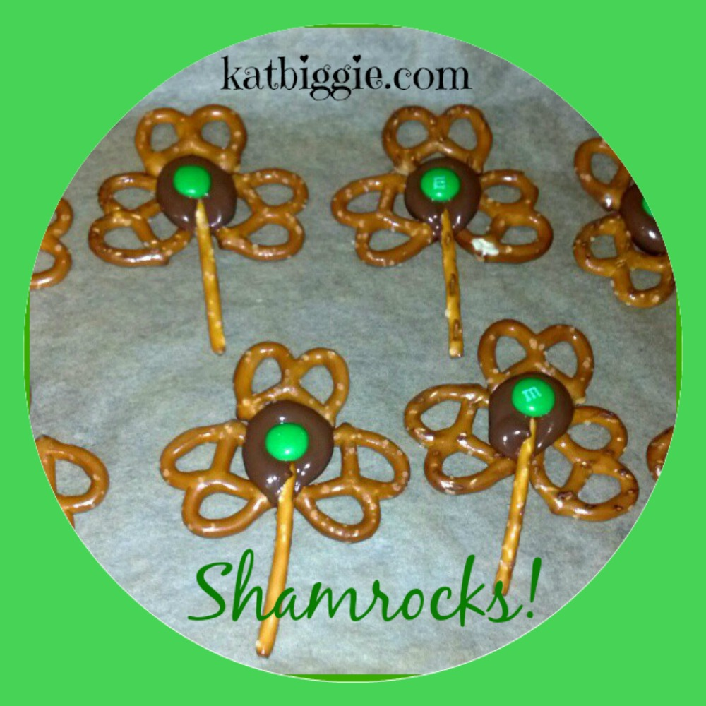 St. Patrick's Day Shamrocks Snack