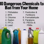 Fight Toxins – 10 Toxic Chemicals to Ban from Your Home