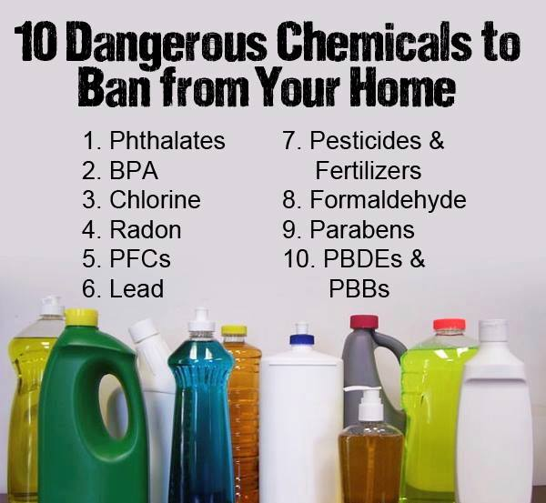 fight toxins - toxic chemicals