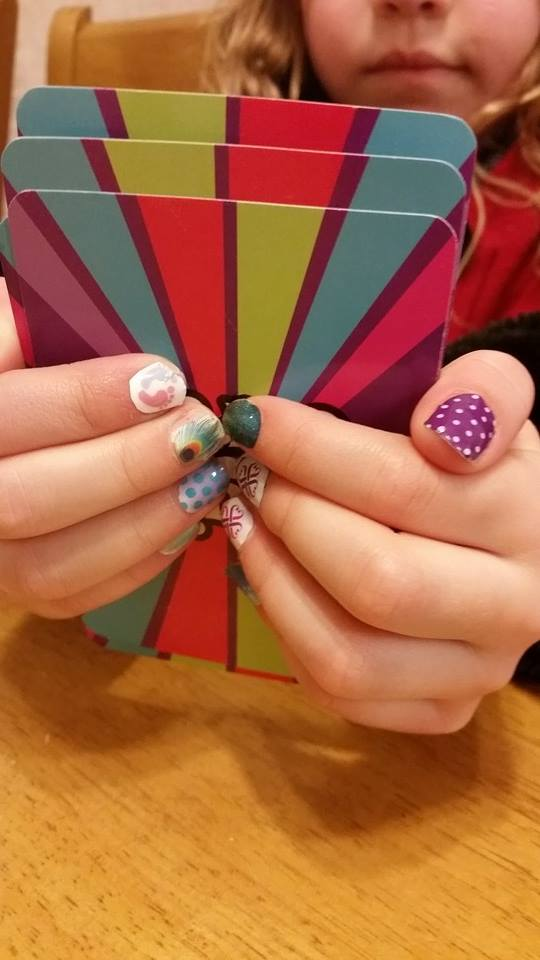 Jelly Bean's Jamberry nails - each one is different!