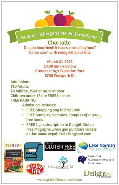 gluten & allergen free event #gfaevent