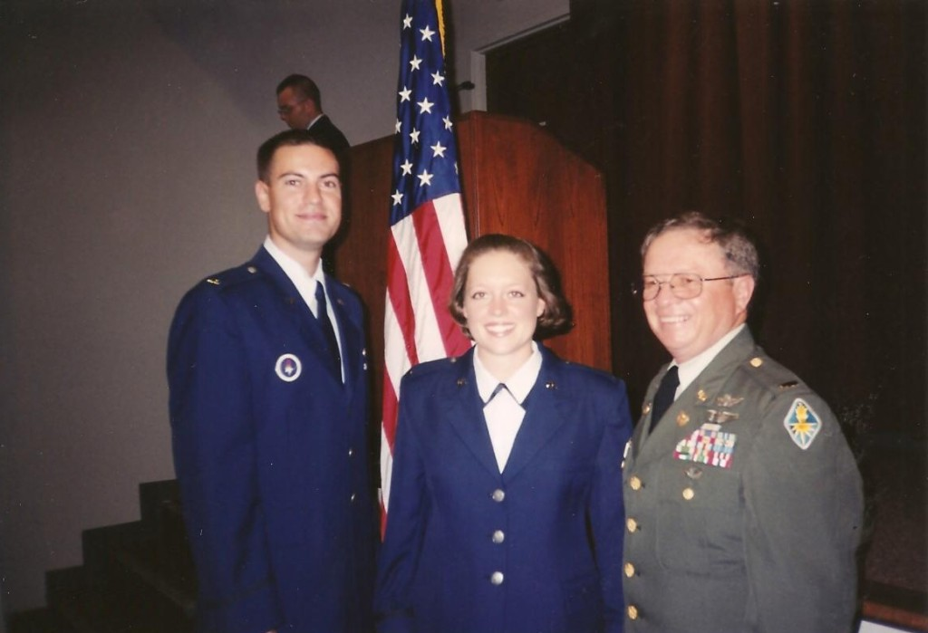 June 28, 2001 - I became an Officer in the United States Air Force.