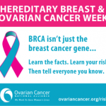 National Hereditary Breast and Ovarian Cancer Week