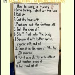 The Kindergartner's Guide to Cooking a Thanksgiving Turkey