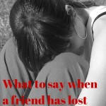 Even I Don't Always Know What to Say to Grieving Parents