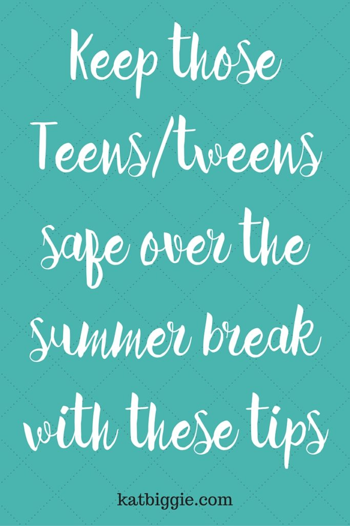 summer safety for teens
